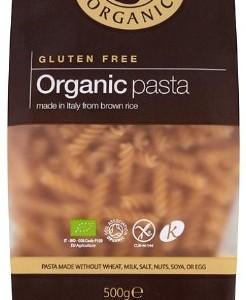 Doves Farm Organic Brown Rice Fusilli 500 g (Pack of 6)