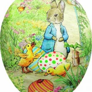 David Westnedge Beatrix Potter Cardboard Easter Eggs 18 cm (pack of 2)