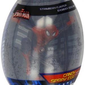 Marvel Spiderman Spray Egg (Pack of 12)
