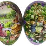 David Westnedge Cardboard Easter Eggs 18 cm (Pack of 2)