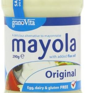 Granovita Organic Mayola Egg Free Original 290 g (Pack of 6)