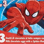 Zaini Spiderman Chocolate Egg with 3D Collectable 60 g (Pack of 12)