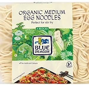 Blue Dragon Organic Egg Noodles (Pack of 12)