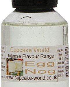 Cupcake World Egg Nog Intense Food Flavouring 100 ml