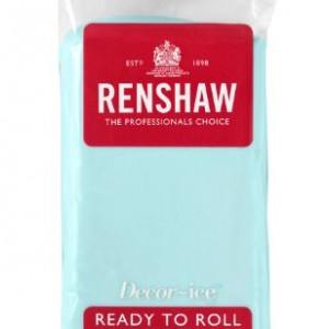 Renshaw Ready To Roll Icing Duck Egg Blue 250 g (Pack of 4)