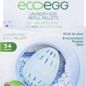 Ecoegg Laundry Egg Refill Pellets (54 Washes) – Soft Cotton