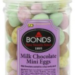 Bonds Milk Chocolate Mini Eggs Jars 225 g (Pack of 6)