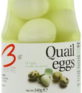 Bespoke Foods Cooked and Peeled Quails Eggs 160 g