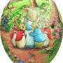David Westnedge Beatrix Potter Cardboard Easter Eggs 15 cm (pack of 3)