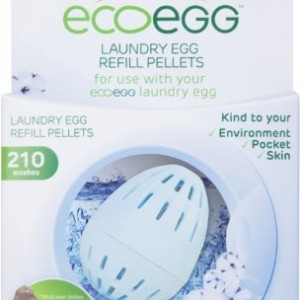 Ecoegg Laundry Egg Refill Pellets (210 Washes) – Soft Cotton